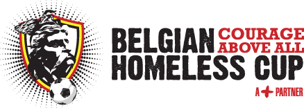 belgian homeless cup logo sponsor business and bikes